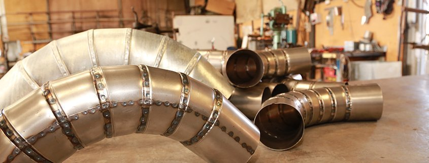 Metal Fabrication - Ducting Lobster Back Bend